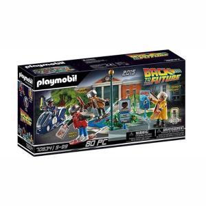 Playmobil Back to the Future Μέρος 2ο Περιπέτειες με τα Ιπτάμενα Πατίνια 70634