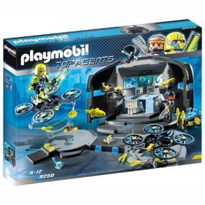 Playmobil Αρχηγείο του Dr. Drone