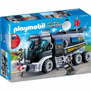 Playmobil Θωρακισμένο Όχημα Ειδικών Αποστολών 9360
