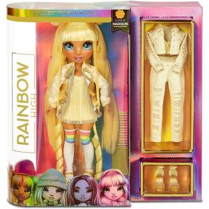 Giochi Ρreziosi Κούκλα Κίτρινη Rainbow High Sunny Madison RAB06000