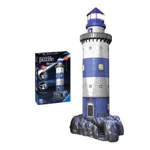 Ravensburger 3D Puzzle Φάρος Night Edition 216 τμχ