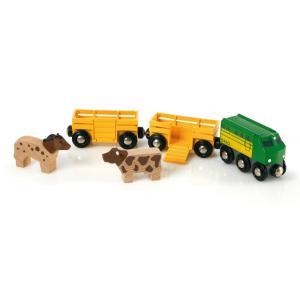 Brio World Τρένο με Ζώα 33404