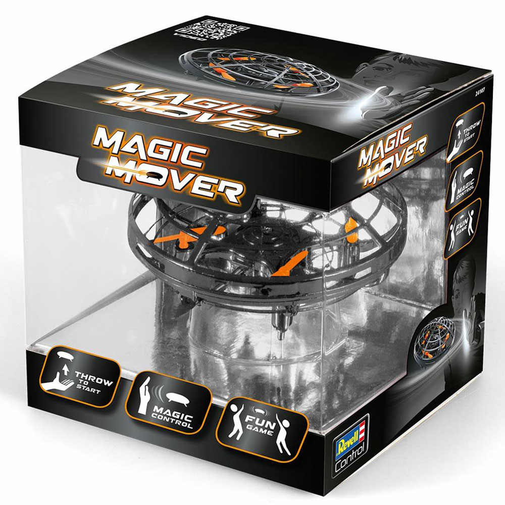 Revell Quadcopter Magic Mover Black Drone 24107