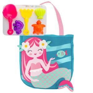 Stephen Joseph Παιδική τσάντα παραλίας με παιχνίδια Mermaid SJ100328B