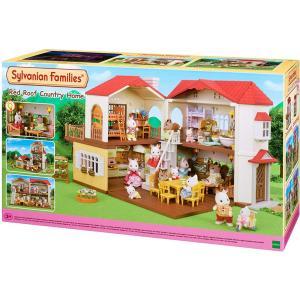 Sylvanian Families Διώροφο Σπίτι Με Κόκκινα Κεραμύδια (5302)