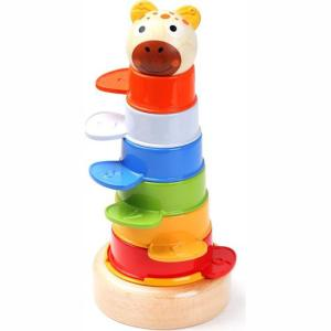 Top Bright Animal Stacking Tower