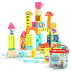 Top Bright Τουβλάκια κατασκευών με ζωάκια 120375