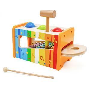 Eva Toys Πάγκος με Μπίλιες - Μεταλλόφωνο (W07C068)
