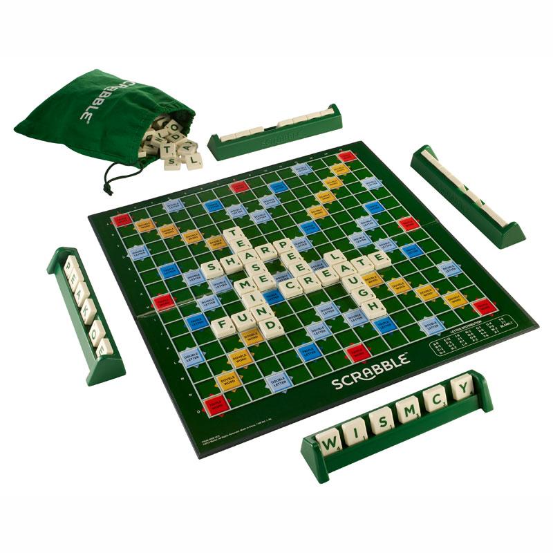 Mattel Scrabble Original Αγγλική Έκδοση (Y9592)