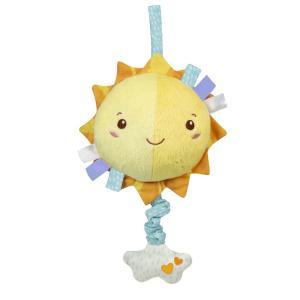 Clementoni Baby Soft Sun Βρεφικό Μουσικό Χνουδωτό Κρεμαστό Ήλιος (1000-17270)