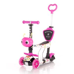 Lorelli Scooter Smart Plus Pink Flowers  (10390030001)