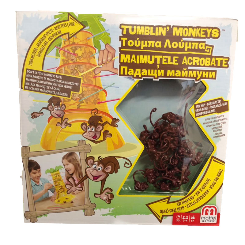 Mattel Τούμπα-Λούμπα Μαϊμουδάκια