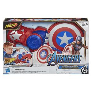 Hasbro Avengers Power Moves Role Play Captain America (E7375)