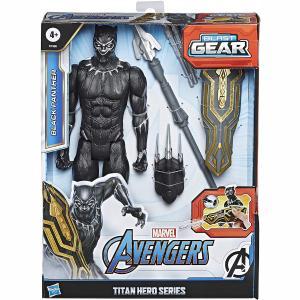 Hasbro Φιγούρα Avengers Titan Hero Blast Gear Black Panther 30cm (E7388)