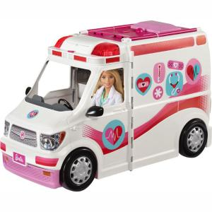 Mattel Barbie - Κινητό Ιατρείο  Ασθενοφόρο