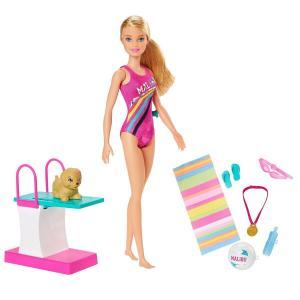 Mattel Barbie DHA - Barbie Κολυμβήτρια GHK23