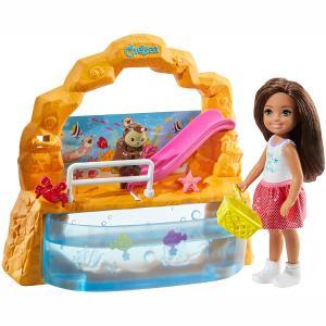 Mattel Barbie Club Κούκλα Chelsea & Ενυδρείο