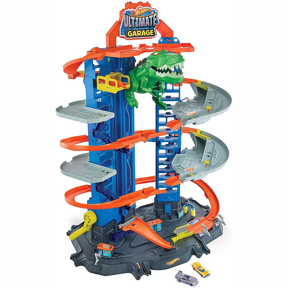 Mattel Hot Wheels Απόλυτο Γκαράζ Με Ρομποδεινόσαυρο (GJL14)