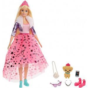 Mattel Barbie Deluxe Μοντέρνα Πριγκίπισσα Κούκλα GML76