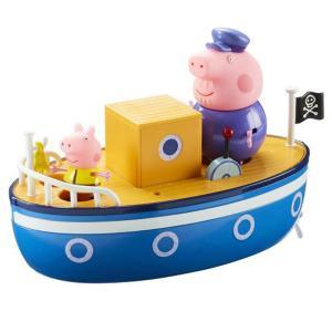 Giochi Preziosi Peppa Pig Το Καράβι Του Παππού Γουρουνάκι με 2 φιγούρες (GPH05060)