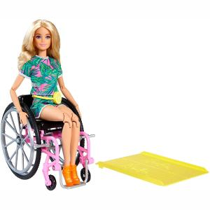 Mattel Barbie Fashionistas Me Αναπηρικό Αμαξίδιο (GRB93)