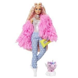 Mattel Barbie Extra - Fluffy Pink Jacket GRN28