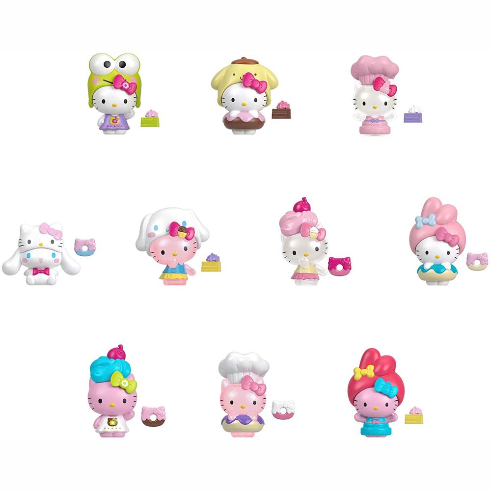 Mattel Hello Kitty - Φιγούρες 5 cmΈκπληξη Σε Βαζάκι (10 Σχέδια)