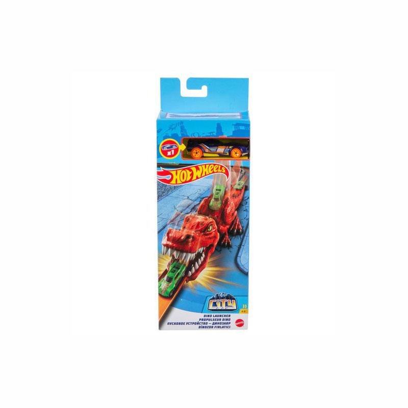 Mattel Hot Wheels City - Δεινόσαυρος Εκτοξευτής