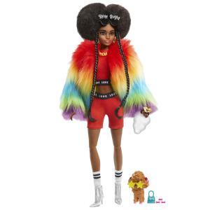 Mattel Barbie Extra - Rainbow Coat GVR04