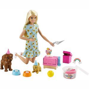 Mattel Barbie Και Σκυλάκια Πάρτι Γενεθλίων (GXV75)