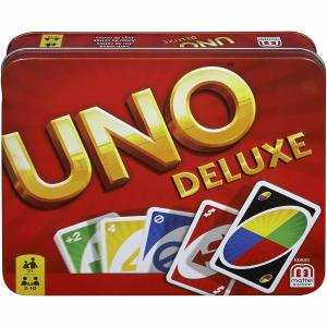 Mattel Uno Deluxe Παιχνίδι Καρτών (K0888)