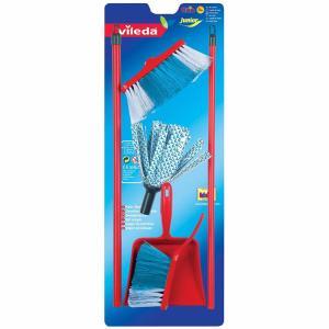 Theo Klein 6706 Vileda Broom Set on Blister Card Toy