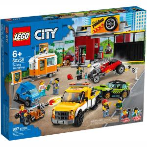 Lego City Great Vehicles Tuning Workshop 60258