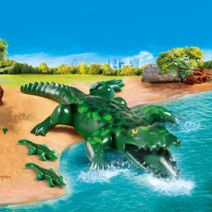 Playmobil Αλιγάτορας με τα μωρά του