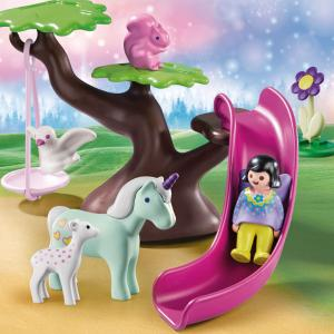 Playmobil Νεραϊδούλα και ζωάκια στην παιδική χαρά