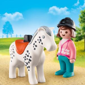 Playmobil Αναβάτρια με άλογο