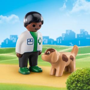 Playmobil Κτηνίατρος με σκυλάκι