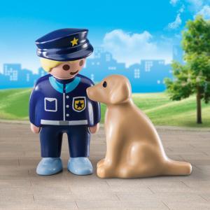 Playmobil Αστυνομικός με εκπαιδευμένο σκύλο