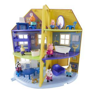 Giochi Preziosi Peppa Pig Σπίτι Με Δωμάτια Της Πέππα (PPC22000)