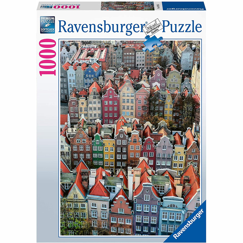 Ravensburger Παζλ 1000 τμχ Πολωνία 16726