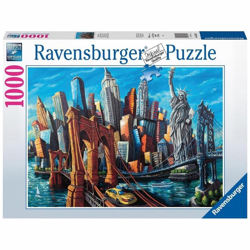 Ravensburger Παζλ 1000 τμχ Νέα Υόρκη 16812