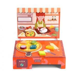 Top Bright Margherita Shape Pizza Box (120454)