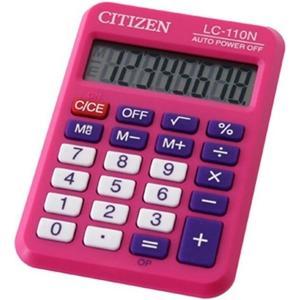 ΑΡΙΘΜΟΜΗΧΑΝΗ CITIZEN LC-110NPK (Pink) (8 ΨΗΦ.)