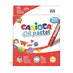 ΠΑΣΤΕΛ CARIOCA OIL PASTEL/24 SUPER SOFT 43278
