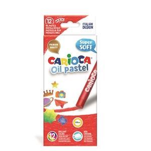 ΠΑΣΤΕΛ CARIOCA OIL PASTEL/12 SUPER SOFT 43277