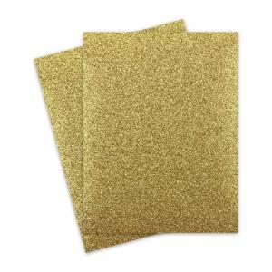 Χαρτόνι glitter 50X70 χρυσό