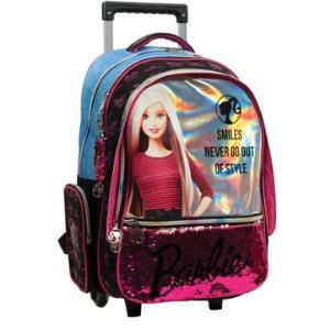 Barbie Denim Fashion Σακίδιο Trolley (349-66074)
