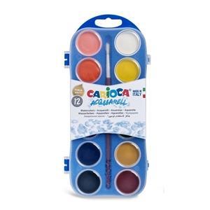 ΝΕΡΟΧΡΩΜΑΤΑ CARIOCA 12 PLASTIC CASE