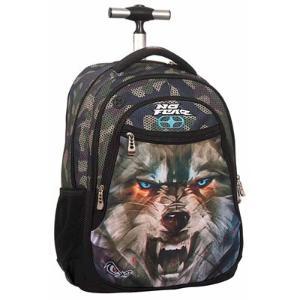 No Fear Σχολική Τσάντα Τρόλεϊ Army Wolf 34751074