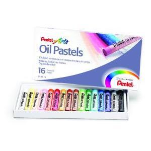 Λαδοπαστέλ Pentel   σετ των 16 χρωμάτων.